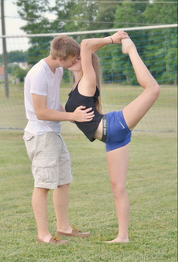 Cheer couple picture