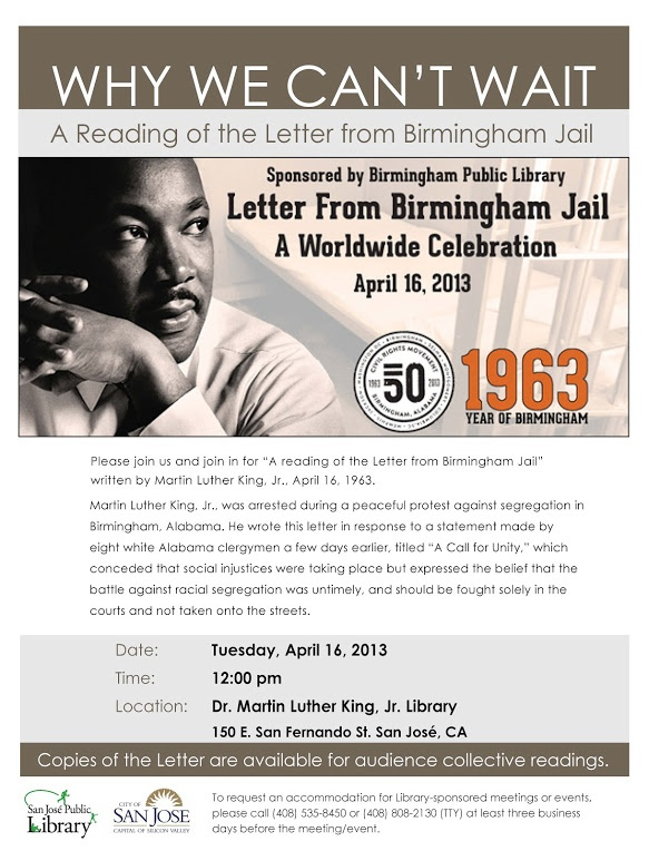 146 best Letter From Birmingham Jail A Worldwide Celebration - celebration letter