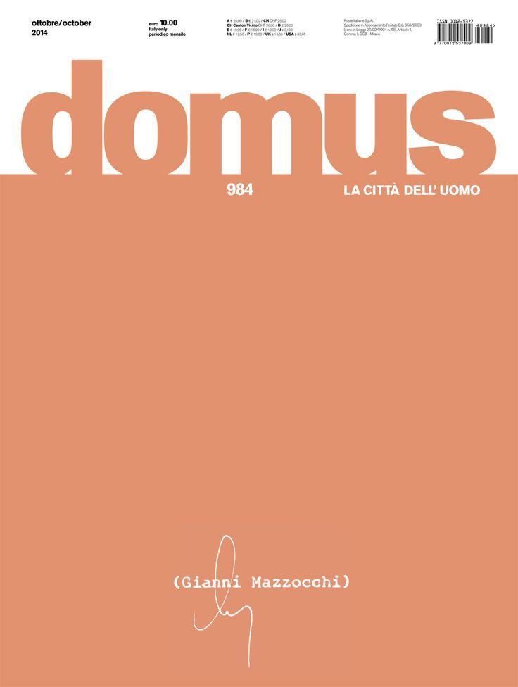 Domus 984, October 2014