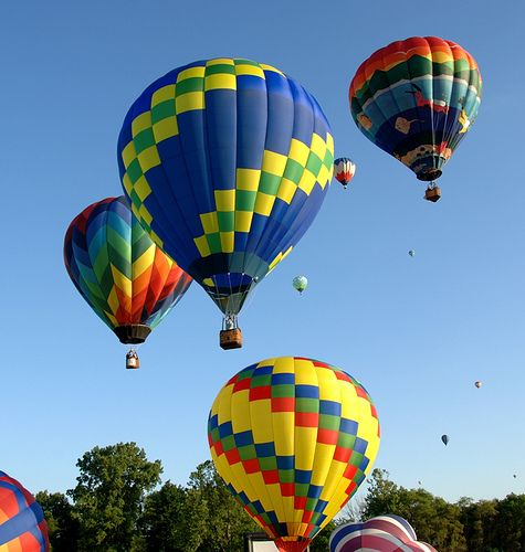 Annual Hot air balloon, Wine and Music Festival