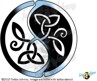 yin-yang Chinese symbol circle