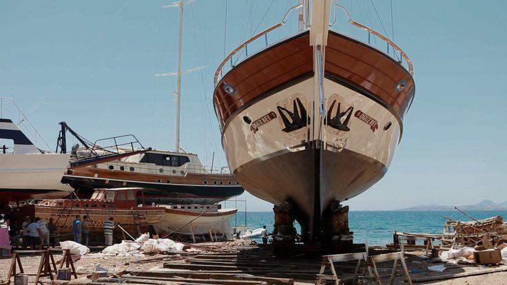 Boat builders of Bodrum, Turkey