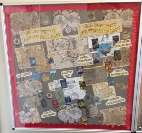 Fantasy and adventure fiction | School Library Displays at ...