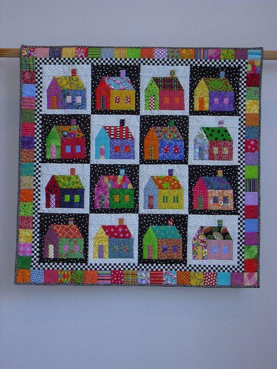 Sought-after Neighborhood wall quilt