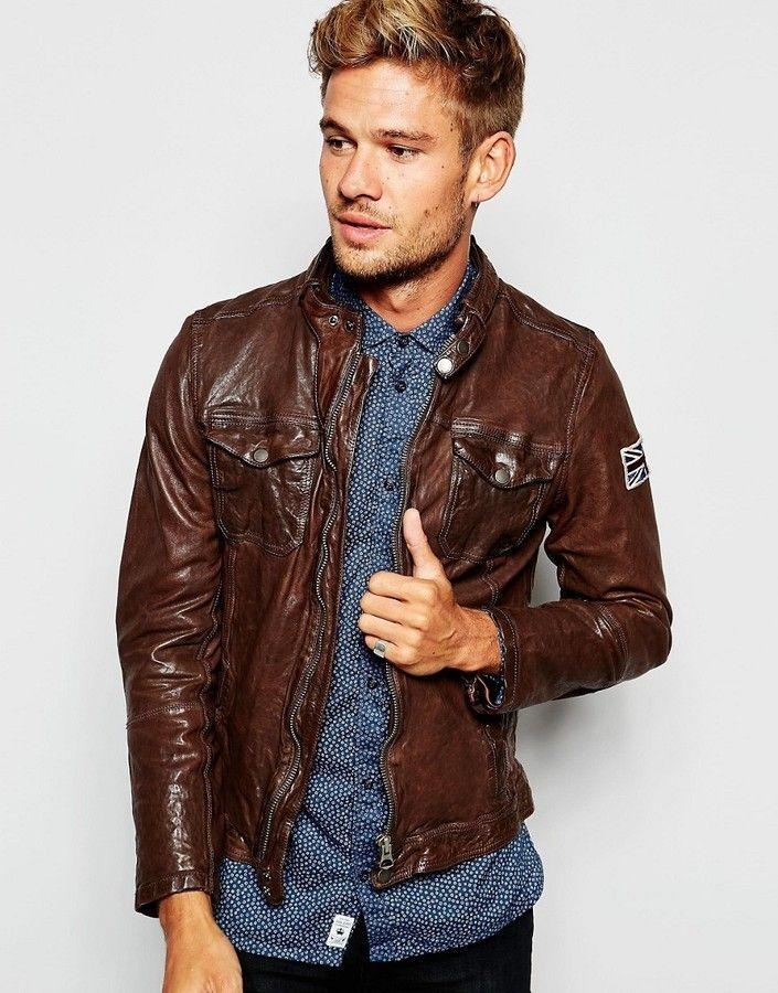 96c9b9b0c1b CHAQUETA DE CUERO PEPE JEANS  chaqueta  chaquetadecuero  cuero  jeans