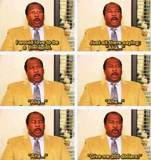 Therapy and psychology humor from The Office | Therapy Humor