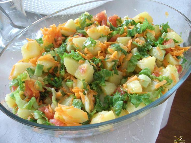 Çoban salatası, şehriye salatası, makarna salatası, rus salatası, amerikan salatası, kuskus salatası, patlıcan salatası ve diğer tarifler için tıklayınız.