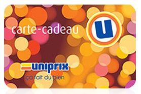 Offrez une carte-cadeau avant Noel : Commandez avant le 30 novembre! http://www.uniprix.com/fr/cartes-cadeau