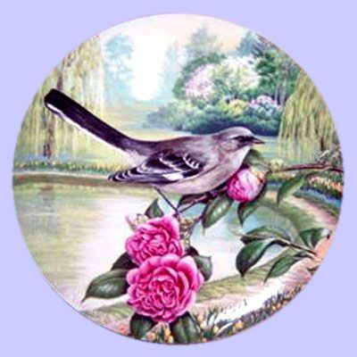 Favorite American Songbirds: Mockingbird - River Shore, Ltd. - Artist: Linda Thompson