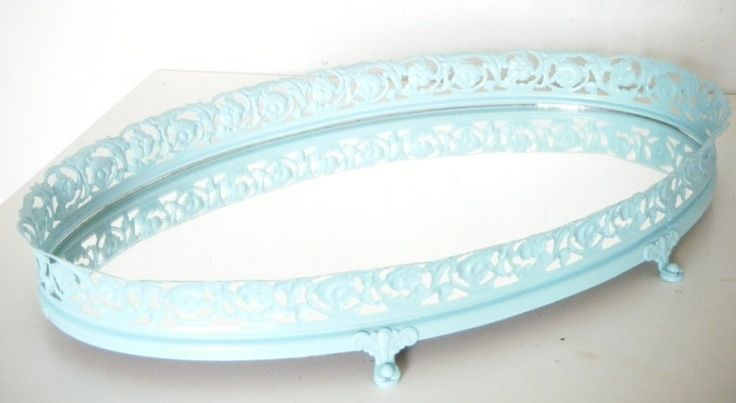 Mirror Vanity Tray Ocean Blue Tray Home - http://ideasforho.me/mirror-vanity-tray-ocean-blue-tray-home-2/ -  #home decor #design #home decor ideas #living room #bedroom #kitchen #bathroom #interior ideas