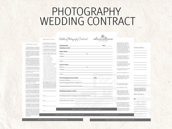 Best 25 Wedding photography contract ideas on Pinterest  Photography contract Wedding