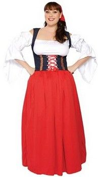 Swiss Miss Plus Size Costume (more details at Adults-Halloween-Costume.com) #oktoberfest #halloween #costumes