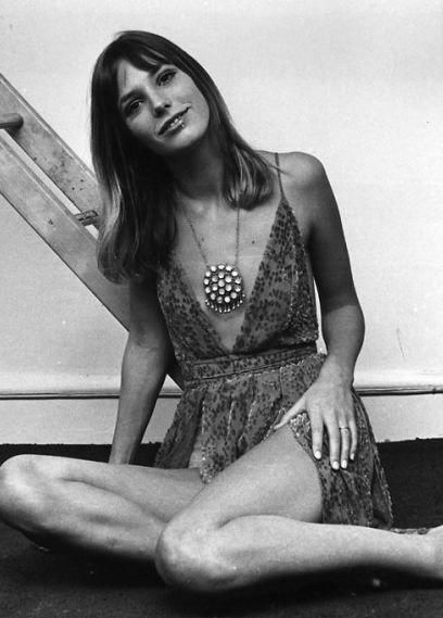 the first hippy. Jane Birkin