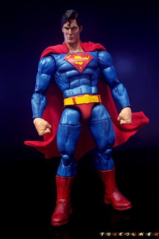 Superman (DC Universe Online) (Marvel Legends) Custom Action Figure