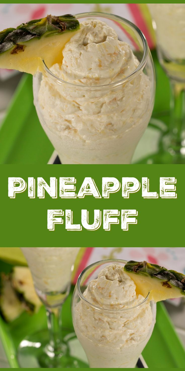 This 3-ingredient Pineapple Fluff tastes like you fussed but it's such a cinch to make!