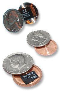 Covert Coins | Store 32 G Inside an Actual Coin