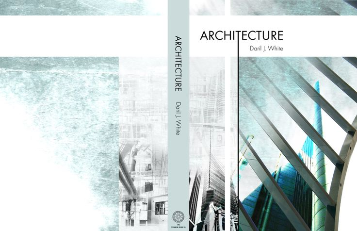 This one is my favorite one. The color it used is blue and white; in the front cover it has a photograph of an architecture, which designed by the author Daril J. White. It also has an old photo to make a comparison with the modern building, which is the successful attraction of this cover.