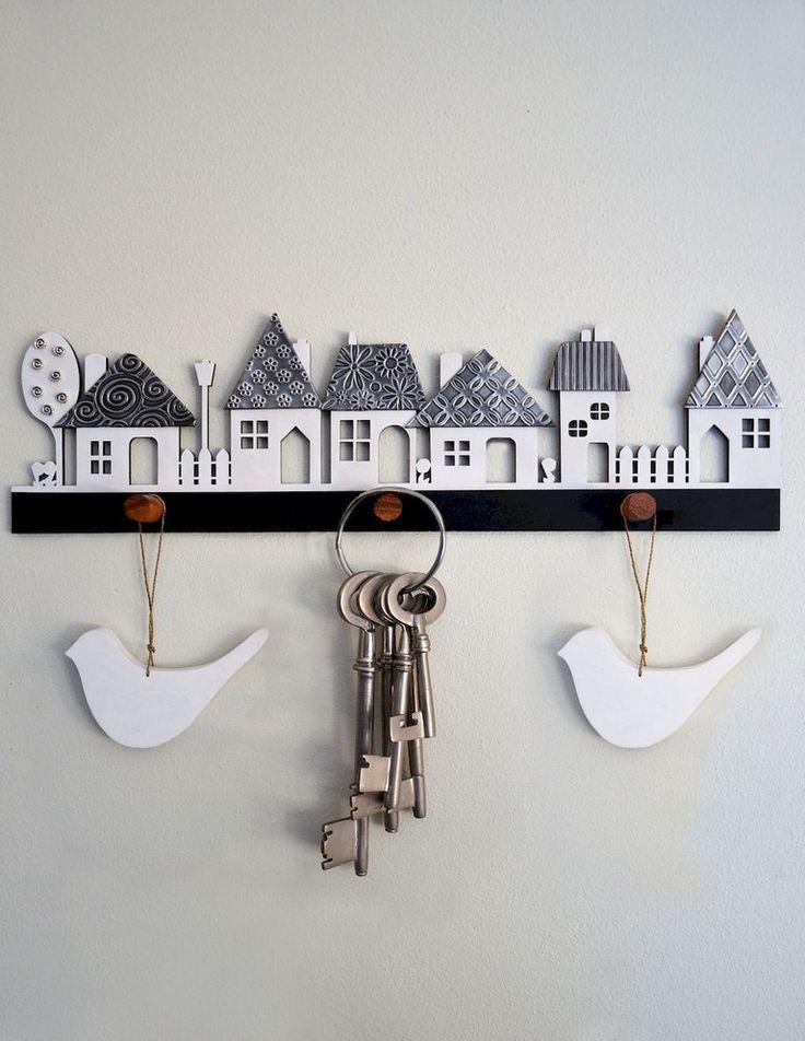 44+ Smart Key Rack Hook Inhaber Ideen am Eingang  – Spiridecor – #Eingang #Hook …