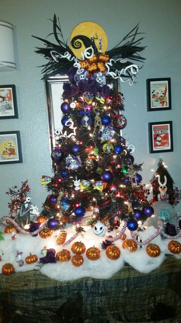 25 Best Ideas About Halloween Christmas Tree On Pinterest