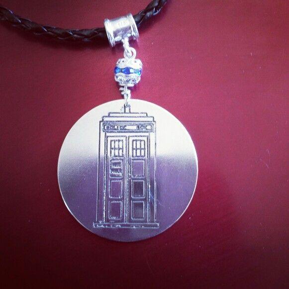 TARDIS argentium silver #doctorwho #collectors #tardis