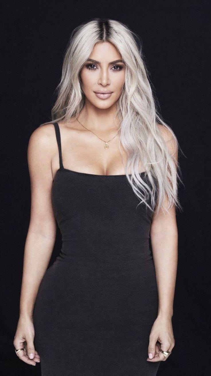 Pinterest Deborahpraha Kim Kardashian Platinum Blonde Hair 2017 Kimkard Pinterest D In 2020 Kim Kardashian Blonde Kim Kardashian Hair Kardashian Hair Color