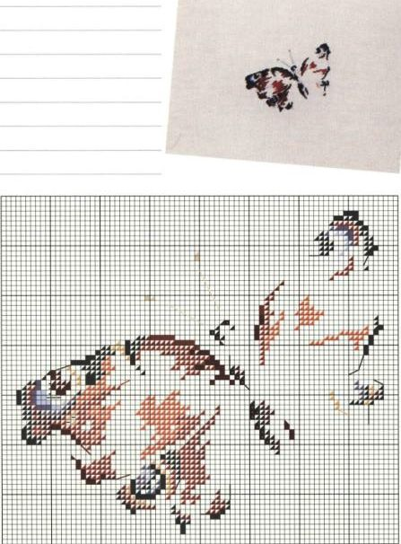 Marie-Thérèse Saint-Aubin cross stitch