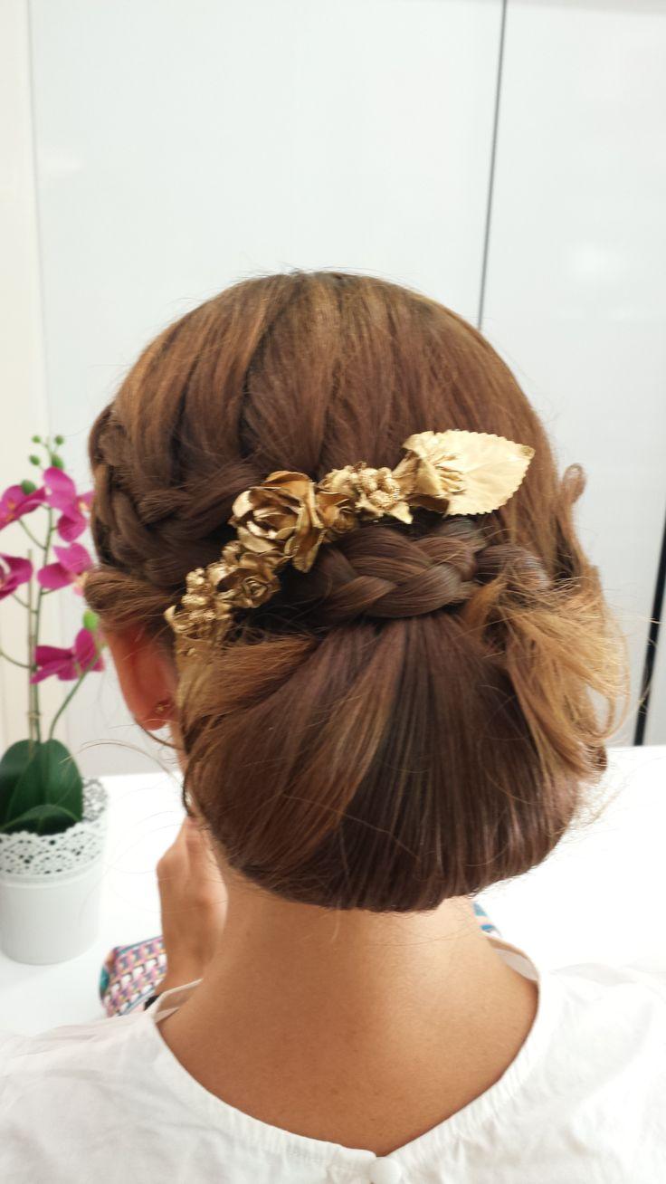 Recogido para boda en peluquer a gregorio porras de - Ideas para porras ...