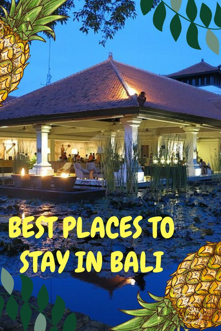 Best locations and hotels in Bali, Indonesia to suit all sorts of budget and travel styles.