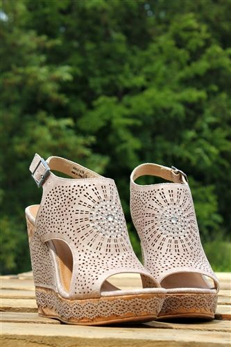 Say You Do Wedge - Cream $62.99! #southernfriedchics #wedge #notrated #cute