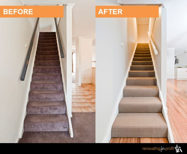 #Stairs #Renovation See more exciting projects at: www.renovatingforprofit.com.au