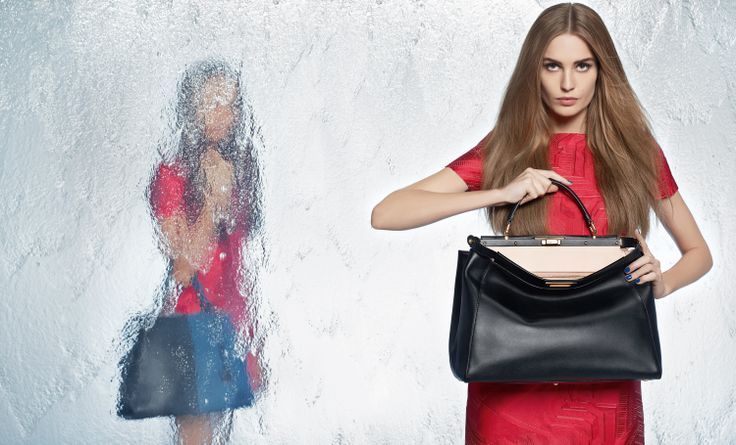 "Fendi Spring/Summer 2014 Advertising Campaign - ""Waterwall"" shot by Karl Lagerfeld"
