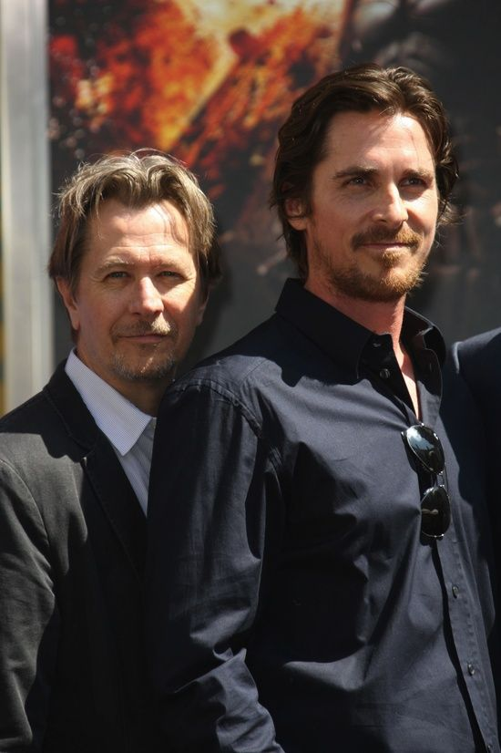 Gary Oldman & Christian Bale