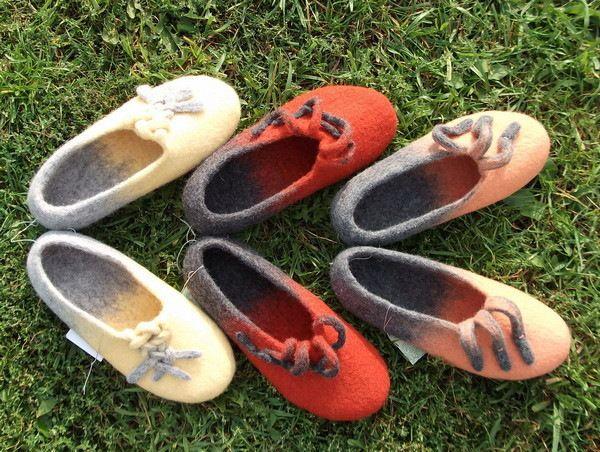 Felted slippers Gallery.ru / Фото #20 - ИРИНА ПОЛУБОЯРИНОВА - renew