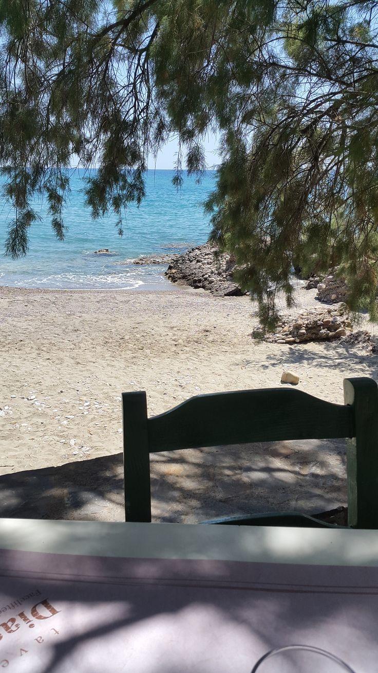 Diaskari beach (green beach)