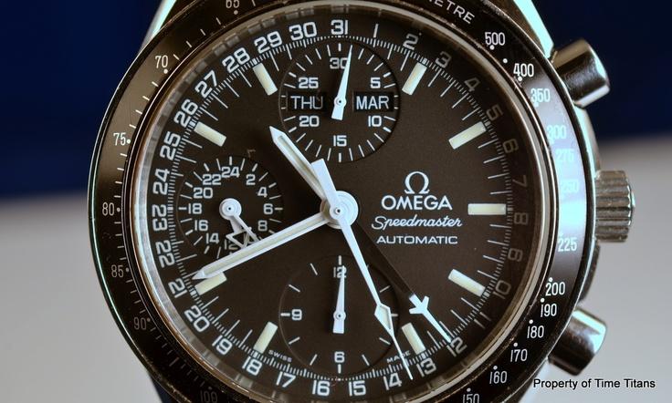 Omega Speedmaster Day Date MK 40 3520 50 Black Dial Caliber 1151 Triple Calendar | eBay