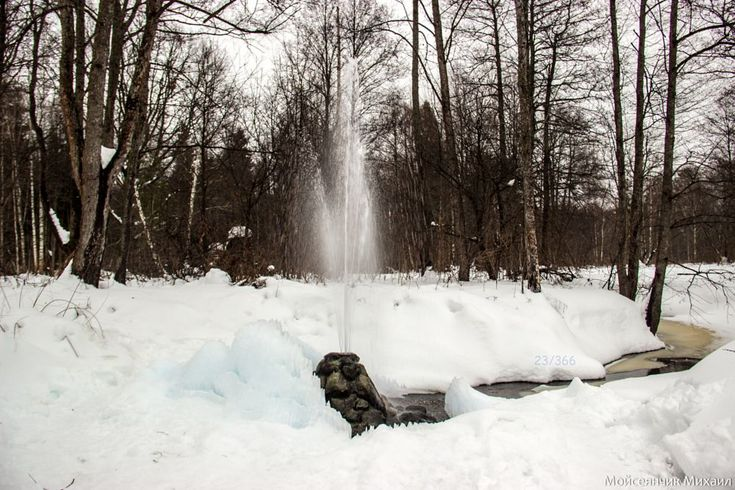 Fountain by Michael Moyseyanchik