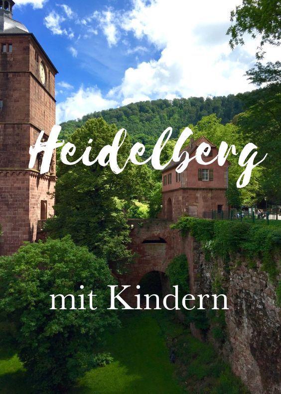 Heidelberg mit Kindern: Eine Sammlung der besten Reisetipps, Sehenswürdigkeiten und Aktivitäten als Familie mit Kindern in Heidelberg.