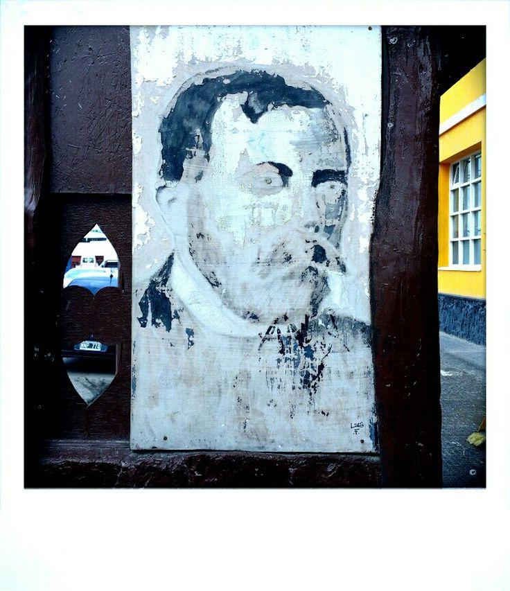 Street art downtown Ushuaia, Argentina