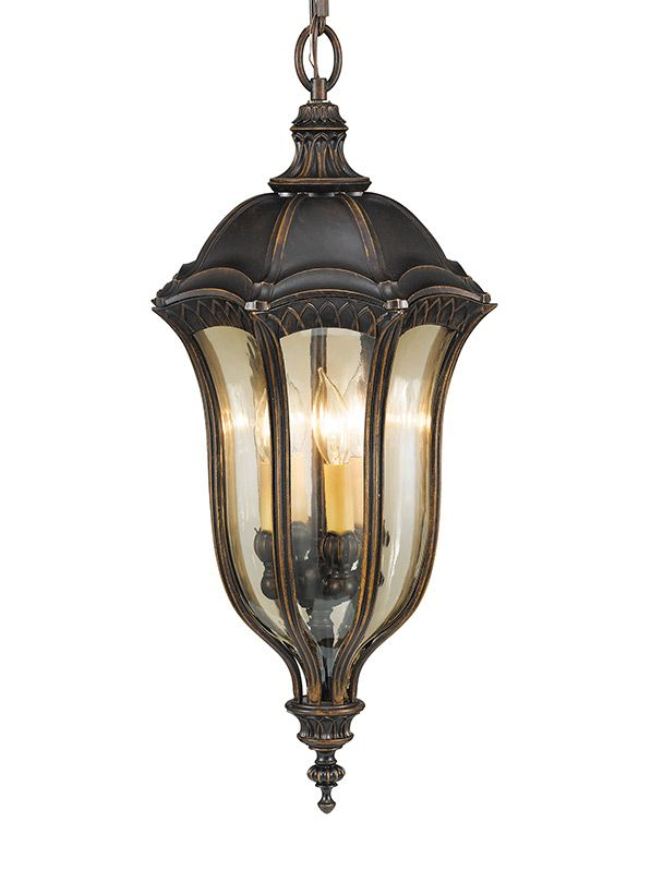 42 best outdoor lighting wet ul rating images on pinterest outdoor four light chain hanging porch light baton rouge gold lustre tinted glass and a warm walnut finish mozeypictures Gallery