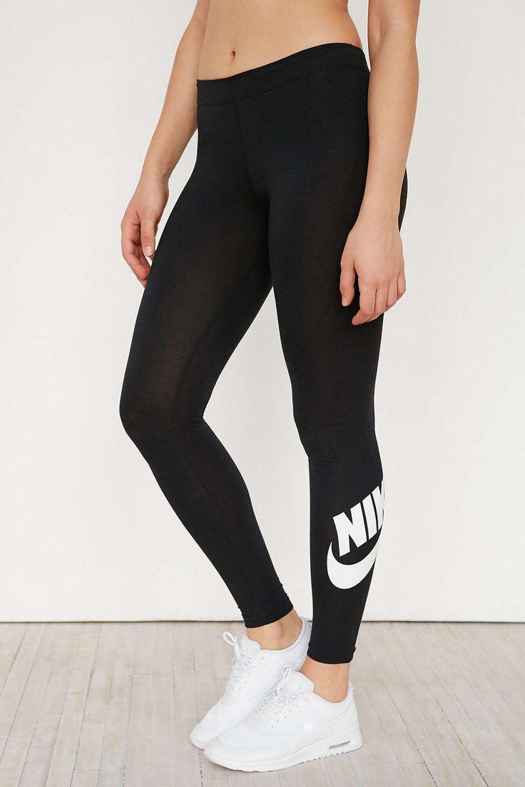 Nike Leg-A-See Logo Legging. Urban Outfitters. Black.
