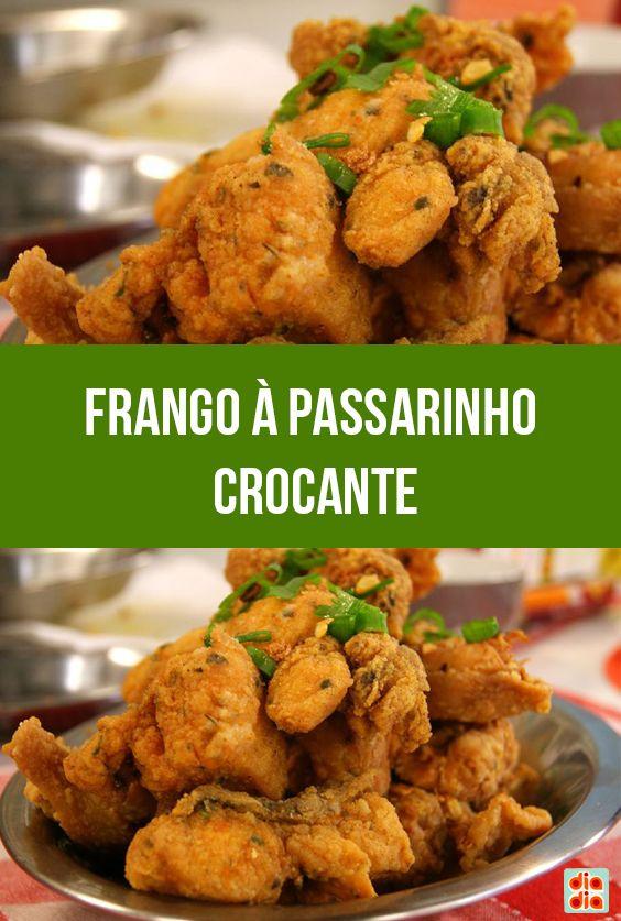 Frango à Passarinho Crocante