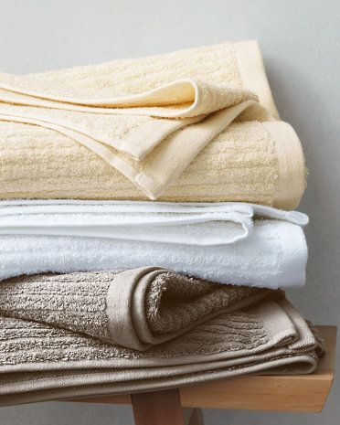 Pure Cotton Is Combined With Belgian Linen For A Luxurious, Spa Worthy Towel  That