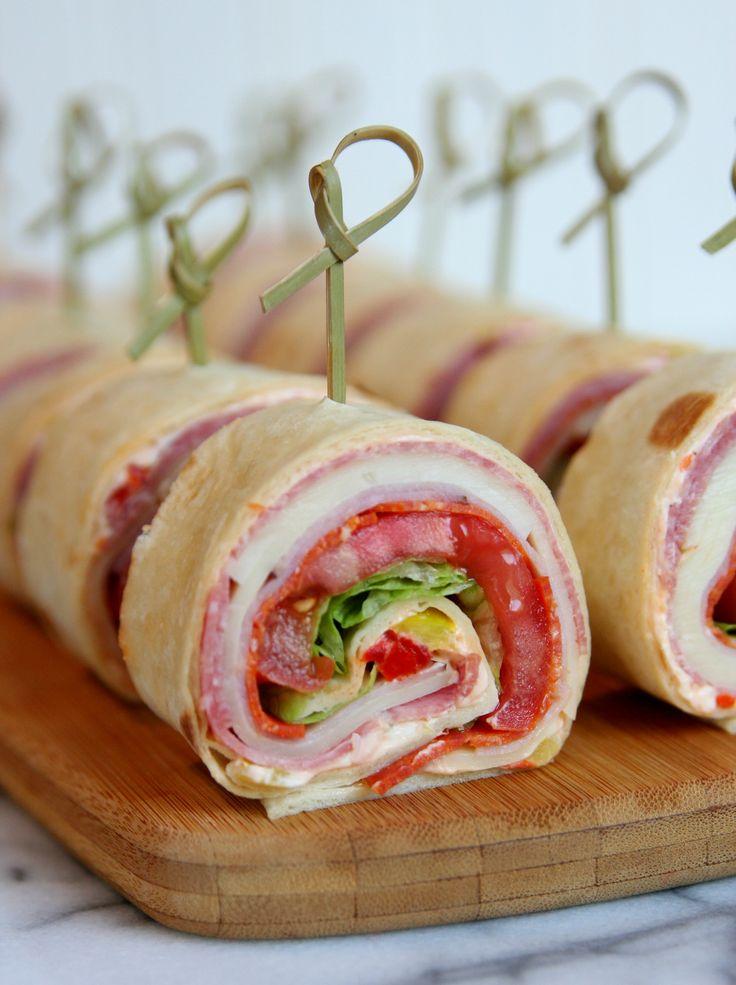 Italian Sandwich Roll Ups Recipe Roll Ups Italian And