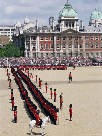 Trooping the Colour, Horseguards Parade, London, England, United Kingdom