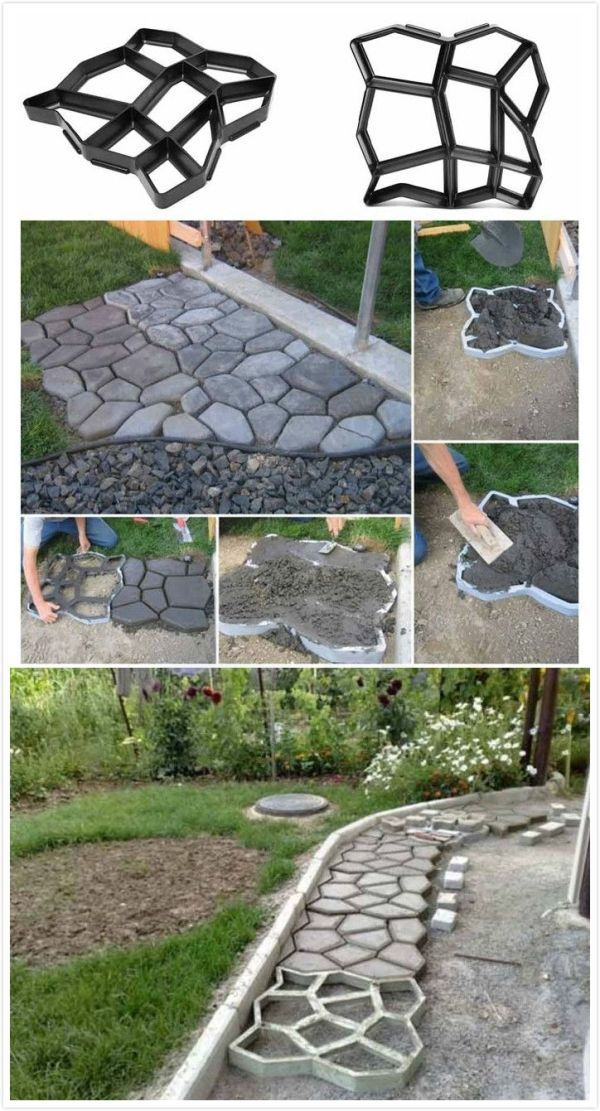 Garden Paving Concrete Mold#garden# by saundra