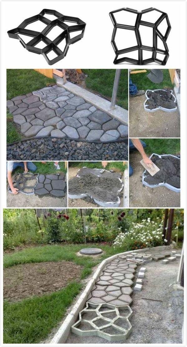 Garden Paving Concrete Mold#garden# by saundra