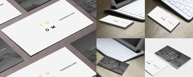 Muestras tus diseños de tarjetas de presentación de una forma elegante y realista -> http://jorgelessin.com/?p=1986