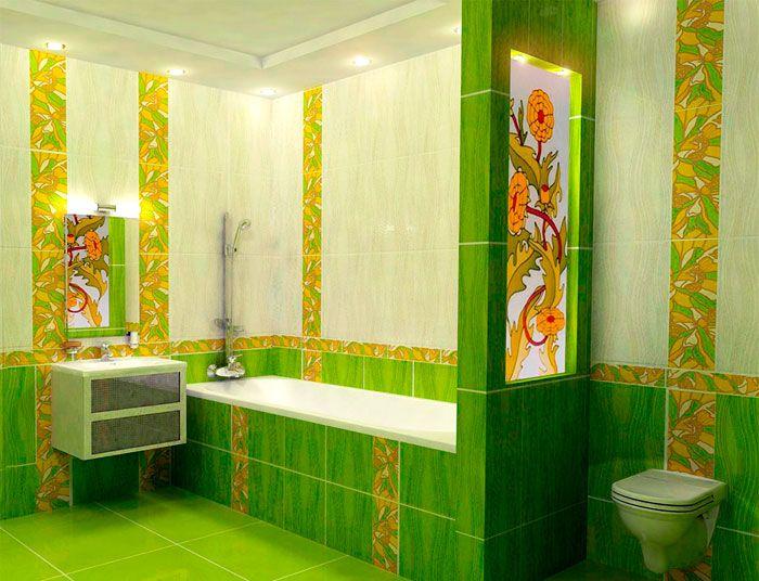 Плитка для ванной комнаты - 23