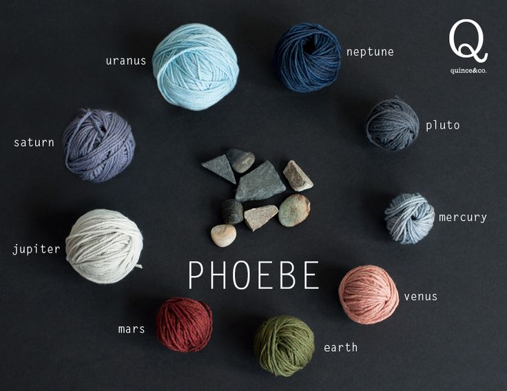 Quince & Co. Phoebe: 100% American Extra-Fine Merino DK weight yarn in 9 luxurious, tonal-dyed shades. Made from the finest commercially-available wool grown, spun, and dyed in the US.