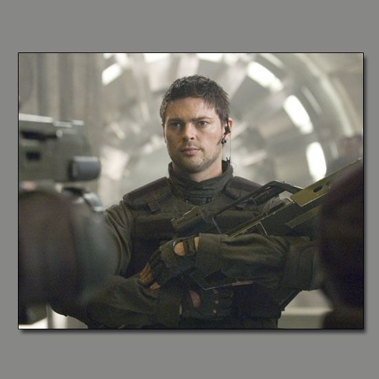 Karl Urban in Doom